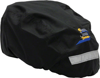 Jandd Helmet Cover Black, Regular Size