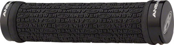 Answer BMX Flangeless Grip, Black
