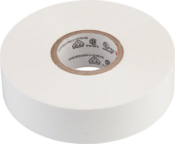 "3M Scotch Electrical tape No.35 3/4"" x66' White"