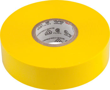 "3M Scotch Electrical Tape No.35 3/4"" x 66' Yellow"
