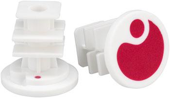 Ergon End Plugs for GA2/GA2Fat/GA3: Berry