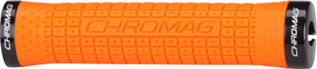 Chromag Clutch Grips: Orange