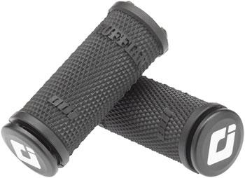 ODI Ruffian Lock-On Grips - Black, Lock-On, Gripshift