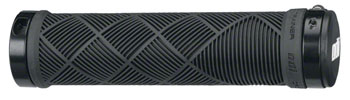 ODI Cross Trainer Grips - Black, Lock-On