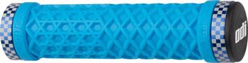 ODI VANS Lock-On Grips - Light Blue, Lock-On
