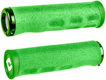 ODI Dread Lock Grips - Green, Lock-On