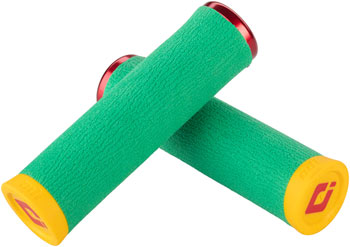 ODI Dread Lock Grips - Rasta, Lock-On