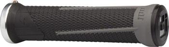 ODI AG1 Grips - Black/Graphite, Lock-On