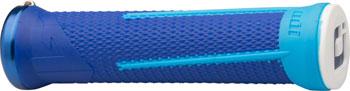 ODI AG1 Grips - Blue/Light Blue, Lock-On