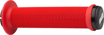 ODI Swayze Grips - Bright Red, Lock-On, Flange