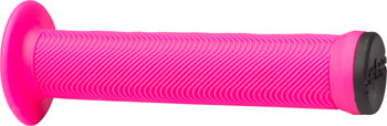 ODI Swayze Grips - Hot Pink, Flange