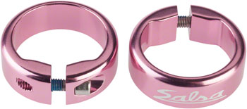 Salsa Lock-On Collars Pink