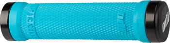 ODI Ruffian Grips - Aqua, Lock-On