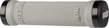 ODI Ruffian Grips - Gray, Lock-On