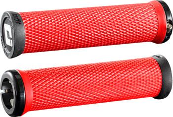 ODI Elite Motion Grips - Burnt Red Black, Lock-On