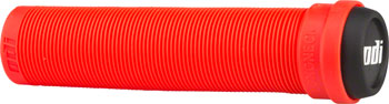 ODI Flangeless Longneck Grips - Fire Red