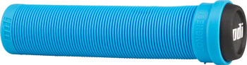 ODI Flangeless Longneck Grips - Light Blue