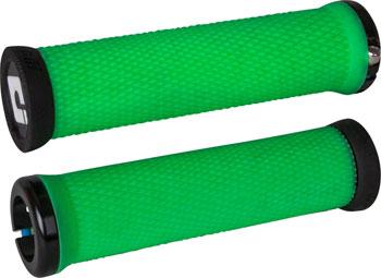 ODI Elite Motion Grips - Retro Green, Lock-On