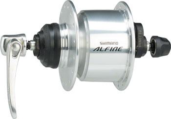 Shimano Alfine DH-S501 Dynamo Centerlock Disc 32h Front Hub