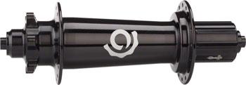 Industry Nine Torch Classic Fat Bike Rear Hub: 32H, 190mm QR, Shimano HG Freehub, Black