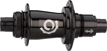 Industry Nine Torch Classic Mountain Rear Hub: 12mm x 142mm Thru Axle, 32H, Black, SRAM XD1 Freehub, Centerlock