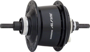 Shimano Alfine SG-S7001 8-Speed Internally Geared Disc Brake 32h Rear Hub Black, Small Parts Not Included