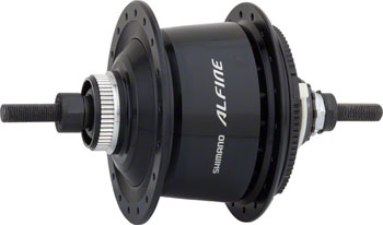 Shimano Alfine SG-S7001 8-Speed Internally Geared Disc Brake 36h Rear Hub Black, Small Parts Not Included