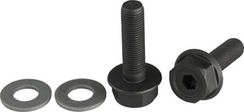 "G Sport G-bolts 3/8"" 17mm/6mm Pair Black"