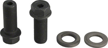 G Sport G-bolts 14mm 17mm/6mm Pair Black