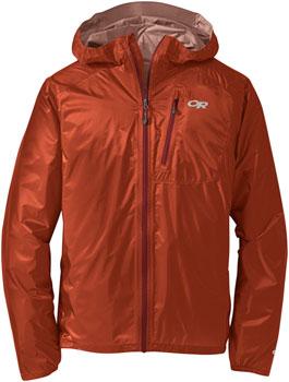 Outdoor Research Helium II Men's Jacket: Burnt Orange/Firebrick, SM