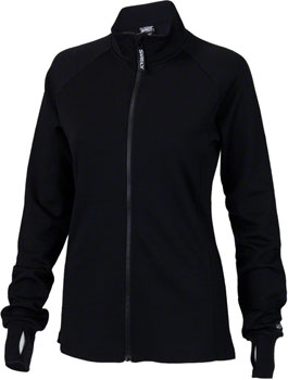 Surly Merino Wool Women's Long Sleeve Jersey: Black XS
