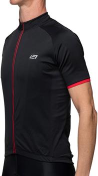 Bellwether Criterium Pro Jersey - Black/Ferrari, Short Sleeve, Men's, 2X-Large