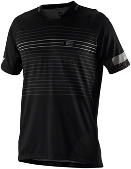 100% Celium Men's Jersey: Black MD