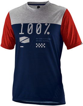 100% Airmatic Men's Jersey: Navy MD