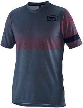 100% Airmatic Men's Jersey: Slate Blue LG