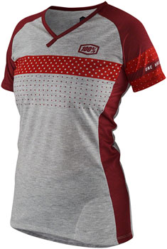 100% Airmatic Women's Jersey: Red XL