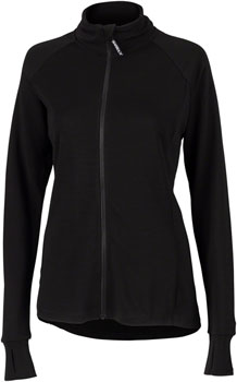 Surly Merino Wool Jersey - Black, Long Sleeve, Women's, Small