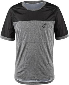 Garneau Struck Jersey - Black/Gray, Short Sleeve, Men's, X-Large