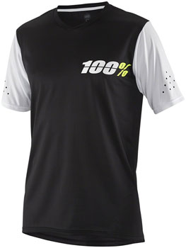 100% Ridecamp Youth Jersey: Black MD