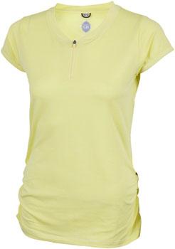 Club Ride Deer Abby Jersey - Yellow, Short Sleeve, Women's, X-Large