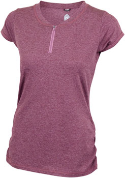 Club Ride Deer Abby Jersey - Merlot, Short Sleeve, Women's, X-Large