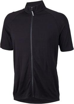 Surly Merino Wool Lite Men's Short Sleeve Jersey: Black SM