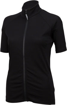 Surly Merino Wool Lite Jersey - Black, Short Sleeve, Women's, Medium