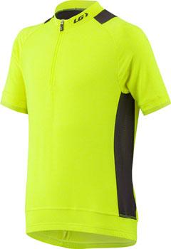Garneau Lemmon Junior Jersey: Bright Yellow/Black JRXS