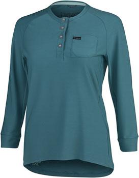 KETL 3/4 Sleeve Jersey - Teal, 3/4 Sleeve, Women's, Large
