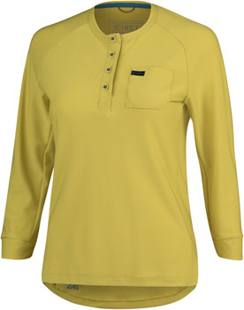 KETL 3/4 Sleeve Jersey - Mustard, 3/4 Sleeve, Women's, X-Small