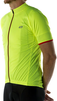 Bellwether Criterium Pro Jersey - Hi-Vis, Short Sleeve, Men's, Large