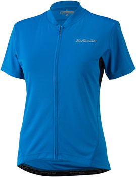 Bellwether Criterium Jersey - Cyan, Short Sleeve, Women's, Small