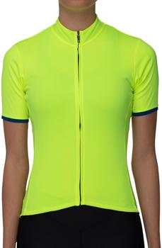 Bellwether Criterium Pro Jersey - Hi-Vis Yellow, Short Sleeve, Women's, Small