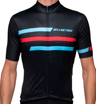 Bellwether Edge Jersey - Black, Short Sleeve, Men's, 2X-Large
